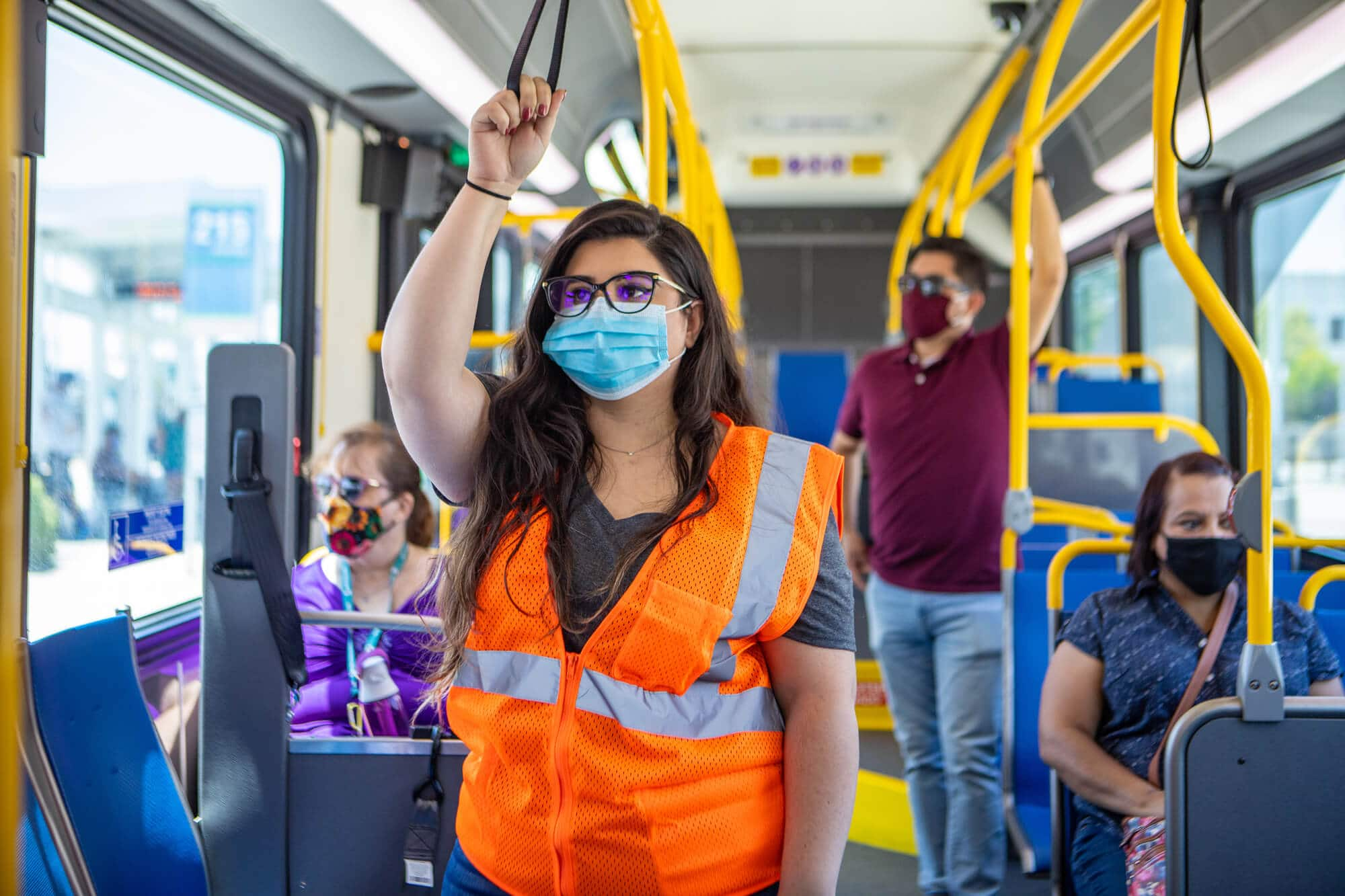 Masked Essential Workers