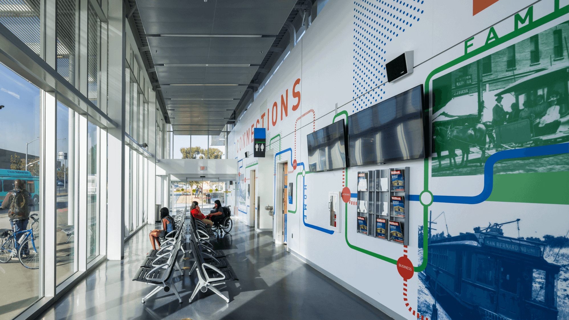 Image of San Bernardino Transit Center interior