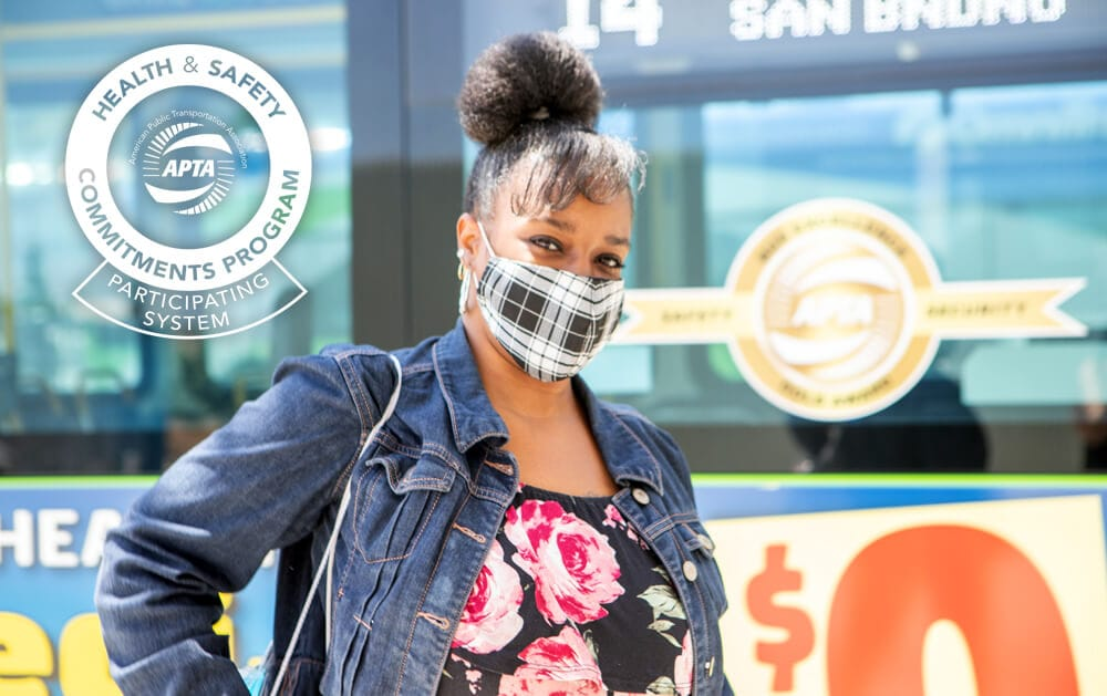 Omnitrans Joins National Health & Safety Program as Customers Return to Public Transit
