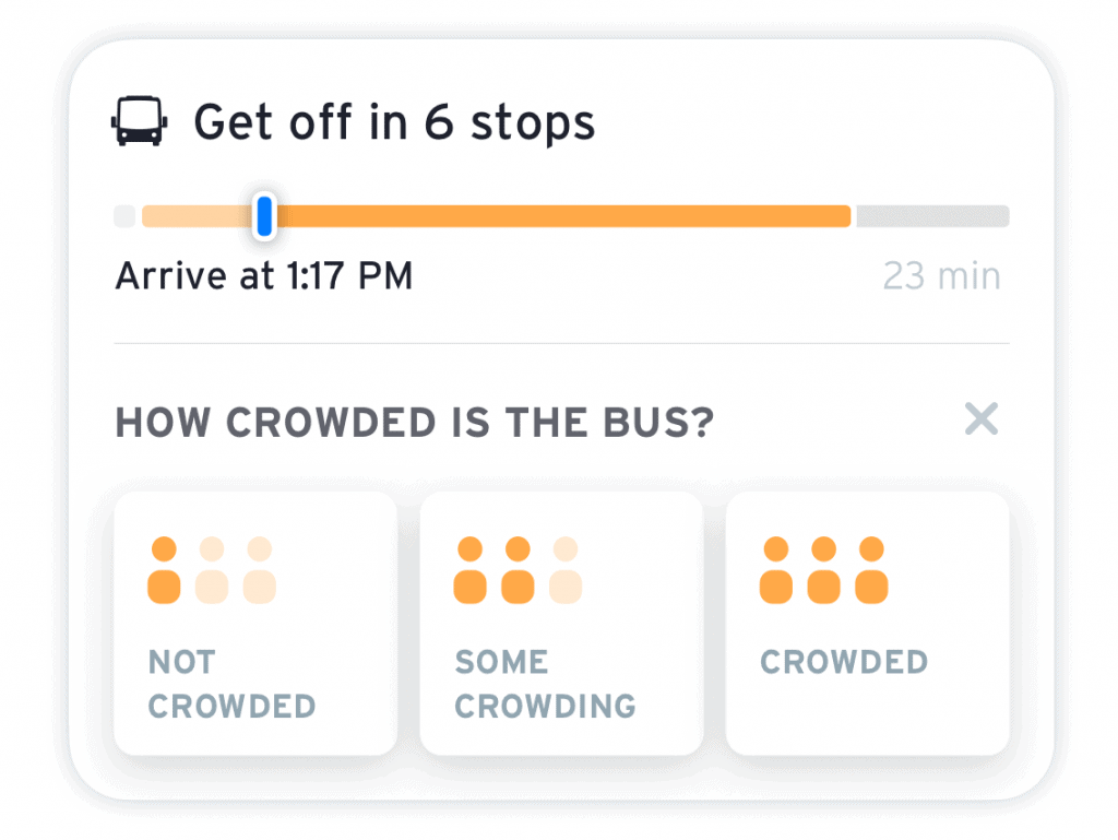 bus crowding question