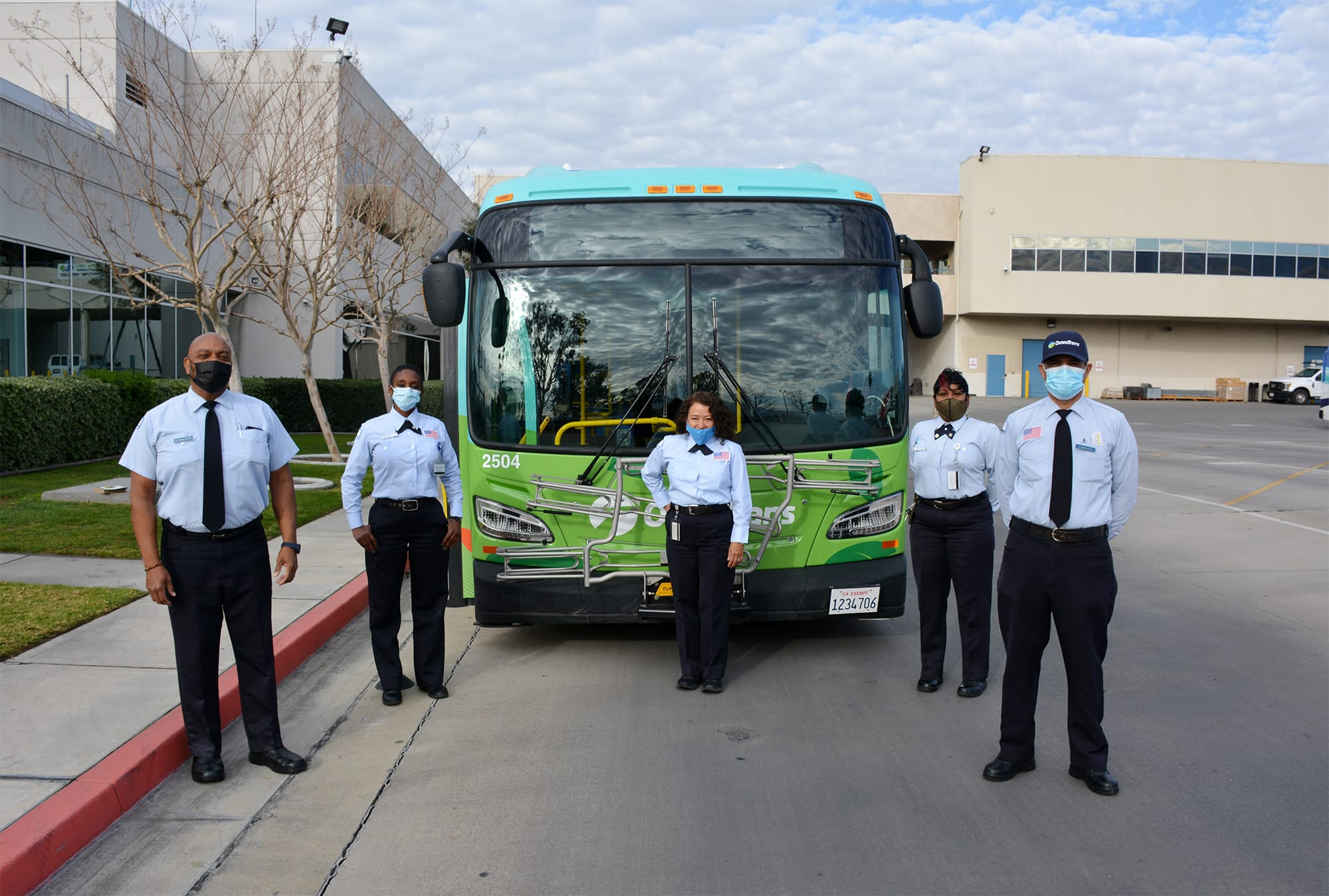 Million Mile Coach Operators Receive Award for Safe Driving Record
